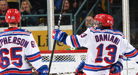 Rangers Do Battle With North Bay And Take WIN