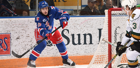 Rangers Lose 5-2 To Conference-Leading Knights